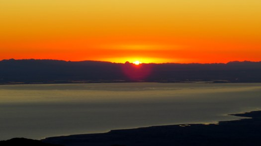 Sunrise over the Salton Sea