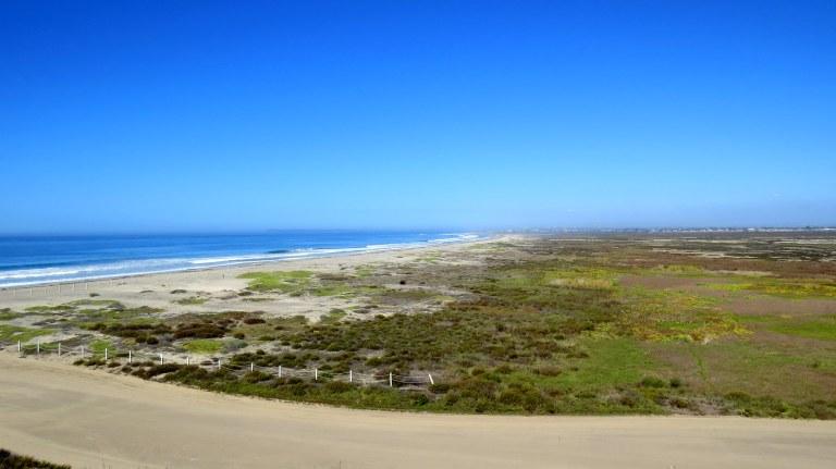 Tijuana River Estuary from Friendship Park