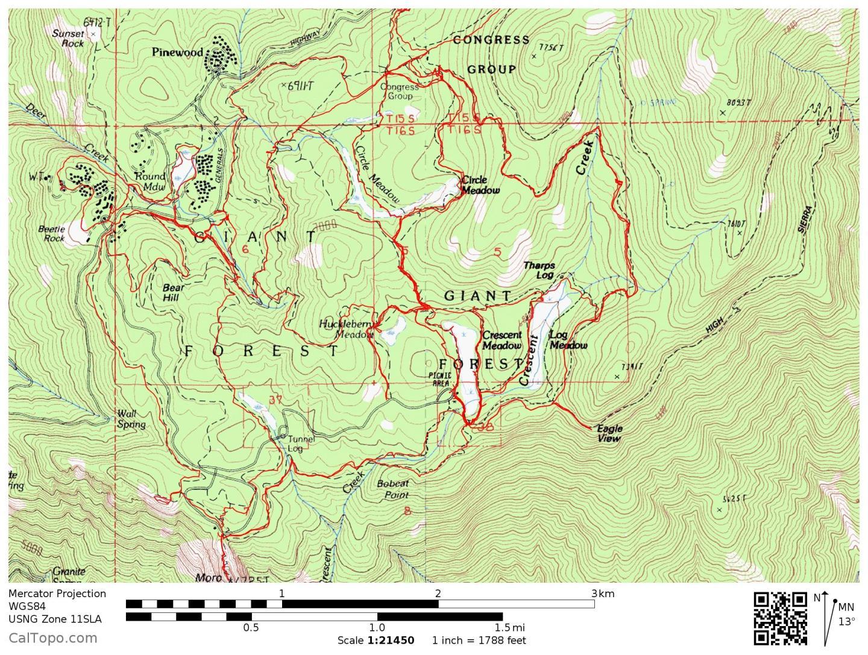 Crescent Meadow USGS