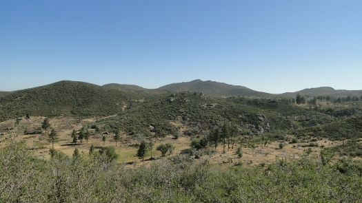 Overlooking Indian Creek's small valley